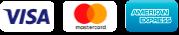 loghi carte di pagamento visa, MasterCard e american express
